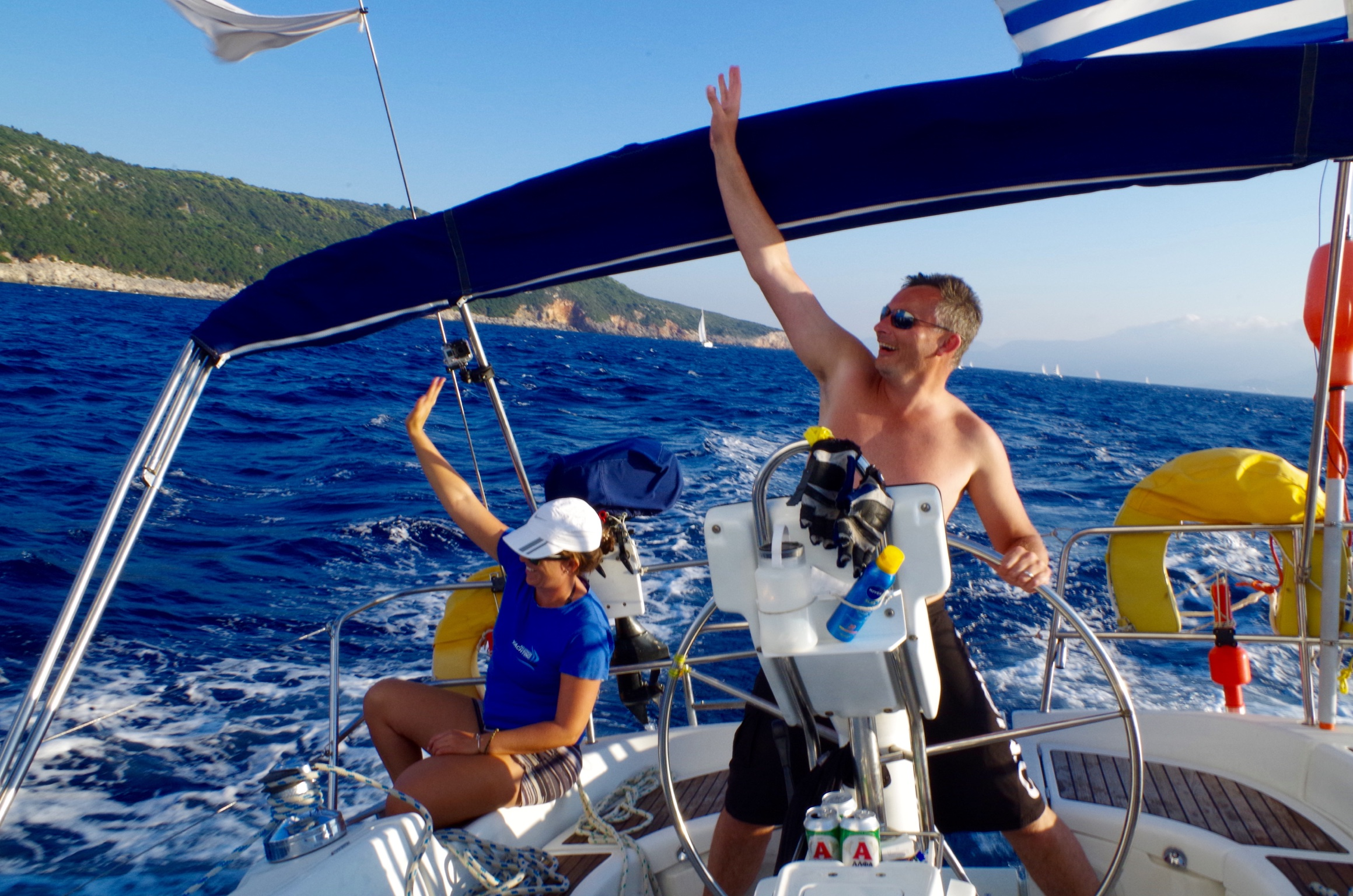 Affordable Sailing Yacht Holidays in Corfu